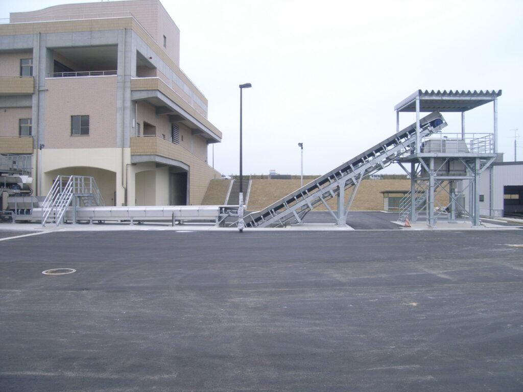 親松排水機場除塵機コンベヤ