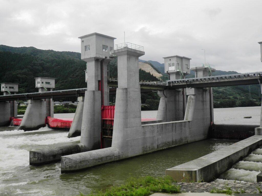 阿賀野川頭首工 ゲート設備(その4)