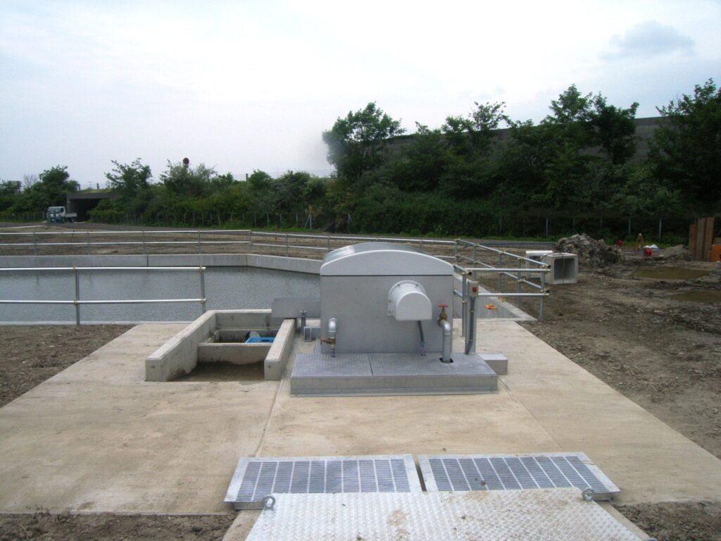 中之島南部第2号揚水機場除塵機